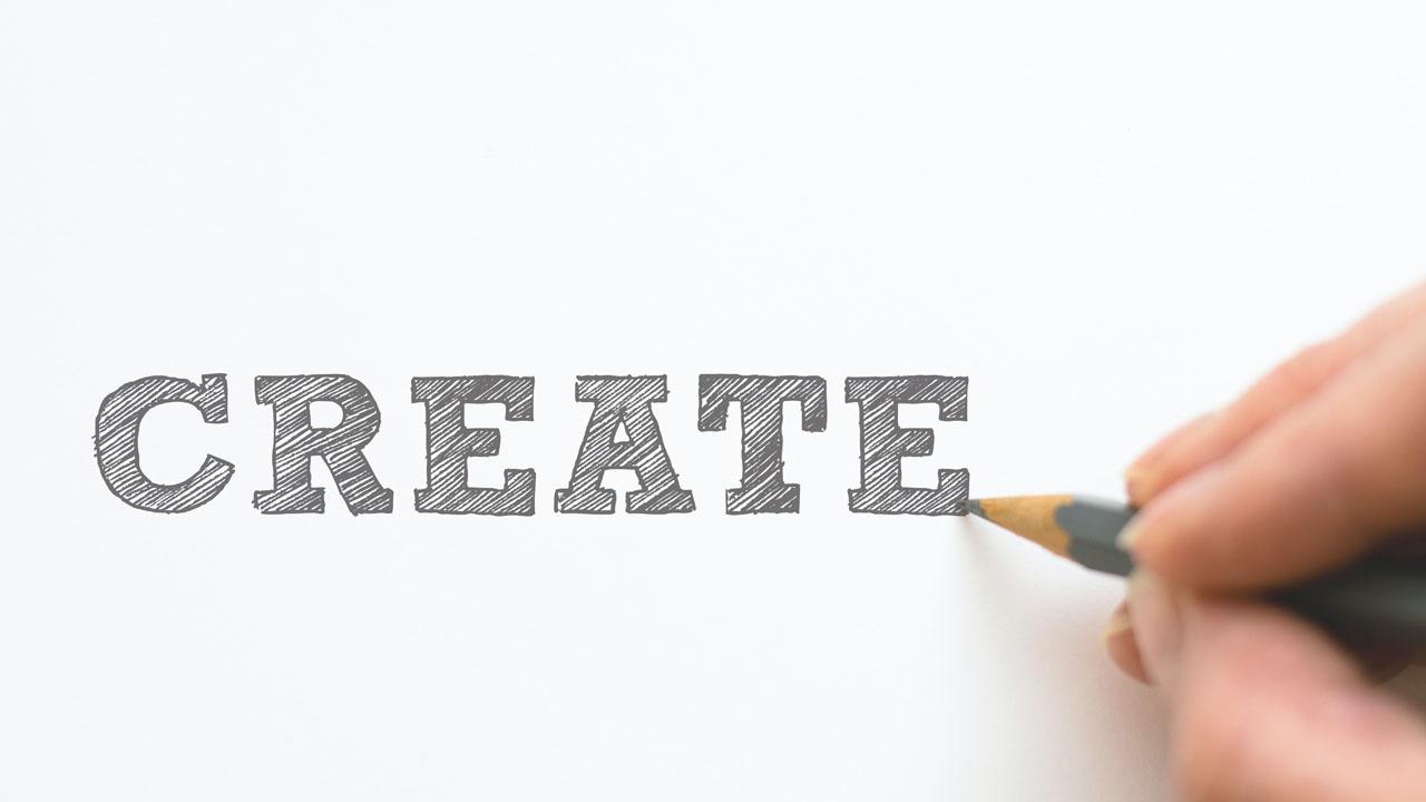 createという文字